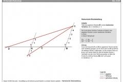 harmonische-streckenteilung