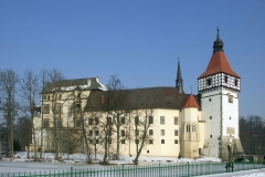 Blatna_CZE_-_castle_side